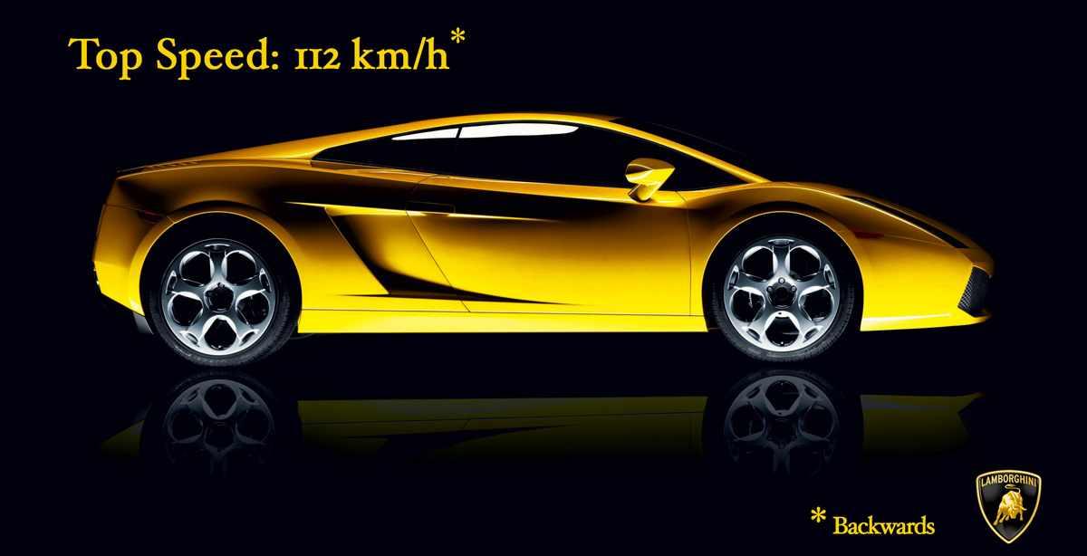 Maksymalna prędkość: 115 km/h. Na wstecznym.