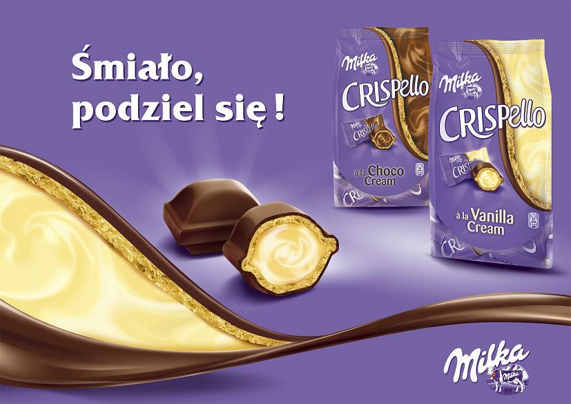 Reklama czekolady Milka