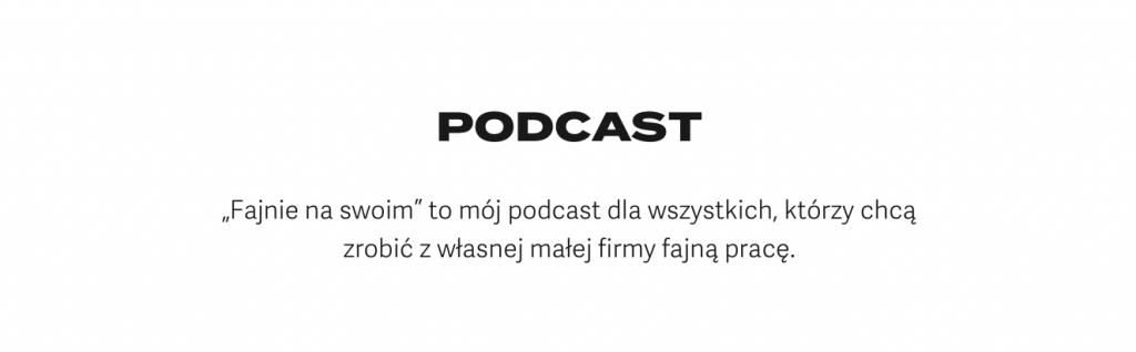 Jacek Kłosiński –podcast